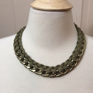 Joan Rivers Chunky Braided Necklace